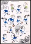 Image of : Cartoon - Drawings of Everton's 1933 cup win