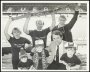 Image of : Photograph - Howard Kendall with Blues Family Club members