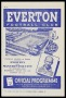 Image of : Programme - Everton v Manchester City