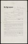 Image of : Player's contract between Everton F.C. and Thomas Gordon Watson
