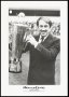 Image of : Photograph of Howard Kendall with Manager of the Year Trophy