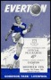Image of : Programme - Everton v Sheffield United