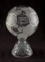 Image of : Glass Football - presented by West Bromwich Albion to commemorate 100 years of top flight football