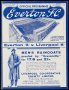 Image of : Programme - Everton 'A' v Liverpool 'A'