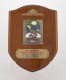 Image of : Plaque - Air Mauritius Silver Jubilee Trophy Everton F.C. v. Aston Villa