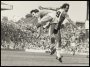Image of : Photograph - Derek Mountfield of Everton and Frank Worthington of Southampton in action