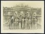 Image of : Photograph - Everton F.C. team on tour, taken at Sans-Souci in Potsdam