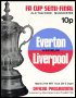 Image of : Programme - Everton v Liverpool