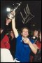 Image of : Photograph - Andy Gray with European Cup Winners' Cup
