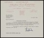 Image of : Letter from Nottingham Forest F.C. to Everton F.C.