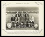 Image of : Photograph - Everton F.C. Officials and Trainers, F. Blundell, W. Borthwick, G. Thompson, S. J. Bentham, H. E. Cooke, H. R. Pickering, C. Leyfield and T. G. Watson