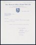 Image of : Letter from West Bromwich Albion F.C. to Everton F.C.