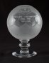 Image of : Glass Football - Royal Doulton League Champion's award