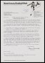 Image of : Letter from Nottingham County F.C. to Everton F.C.