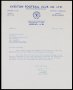 Image of : Letter from Everton F.C. to West Bromwich Albion F.C.