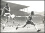 Image of : Photograph - Everton v Aston Villa. Mick Lyons in action.
