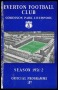 Image of : Programme - Everton v Burnley