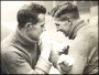 Image of : Photograph - Charlie Gee and Jock Thomson sparring