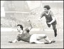 Image of : Photograph - Craig Johnstone of Liverpool and Kevin Ratcliffe of Everton in action