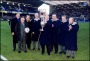 Image of : Photograph - Foundation Day. Past Everton players including Brian Labone, Howard Kendal, Neville Southall, Ray Wilson and Sandy Brown.