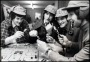 Image of : Photograph - Duncan McKenzie, Bob Latchford, Martin Dobson and another player, playing Cluedo