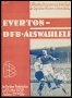 Image of : Programme - DFB Auswahlelf v Everton