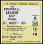 Image of : League Cup Ticket - Aston Villa v Norwich City