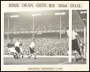 Image of : Photograph - Dixie Dean scoring his 353rd goal