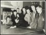 Image of : Team including Harry Catterick and Dave Hickson playing snooker