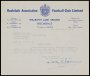 Image of : Letter from Rochdale A.F.C. to Everton F.C.