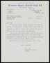 Image of : Letter from Tranmere Rovers F.C. to Everton F.C.