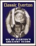 Image of : Trading Card - Six of Everton's Greatest Teams