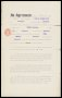 Image of : Player's contract between Everton F.C. and Frank Jefferis