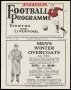 Image of : Programme - Everton 'A' v Earlstown White Star
