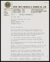Image of : Letter from Luton Town F.A.C. to Everton F.C.
