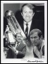 Image of : Photograph - Howard Kendall with Canon League Trophy
