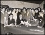 Image of : Photograph - Sir John Moores, CBE, and Harry Catterick with the Everton F.C. team