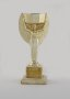 Image of : Replica Jules Rimet trophy. Presented by F.A. to mark winning the World Cup