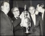 Image of : Photograph - Dixie Dean Tommy Lawton, Alex Young and Sir John Moores, CBE