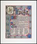 Image of : Scroll in form of illuminated manuscript to Bob Kelso, Liverpool