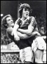 Image of : Photograph - Duncan McKenzie, Everton F.C., after scoring a goal