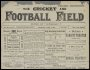 Image of : Newspaper cutting - The Football Field.