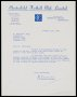 Image of : Letter from Chesterfield F.C. to Everton F.C.