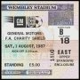 Image of : Charity Shield Ticket - Coventry City v Everton