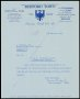 Image of : Letter from Bedford Town F.C. to Everton F.C.