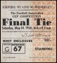 Image of : F.A. Cup Ticket - Everton v Sheffield Wednesday