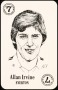 Image of : Trading Card - Allan Irvine