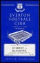 Image of : Programme - Everton v Blackpool