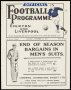 Image of : Programme - Everton v Preston North End