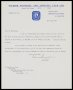 Image of : Letter from Falkirk F.A.C. to Everton F.C.